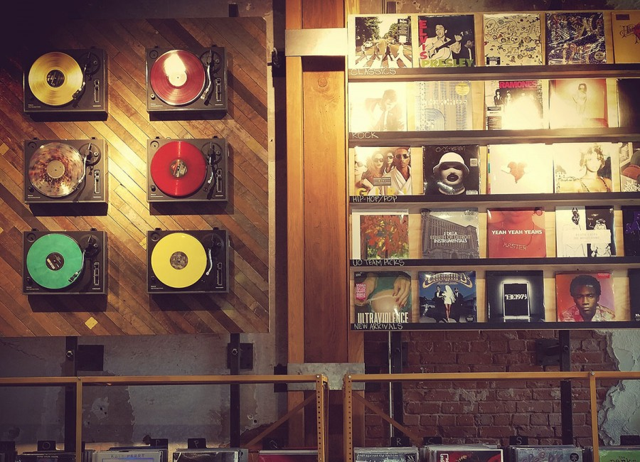 Urban Outfitters: Long live vinyl