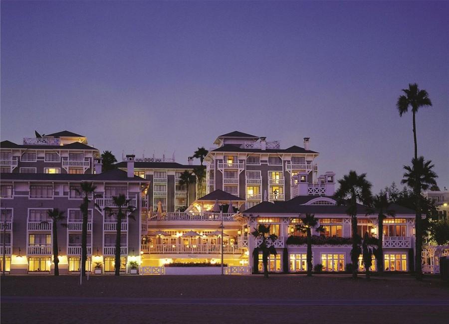 Hotel Shutters on the Beach, California