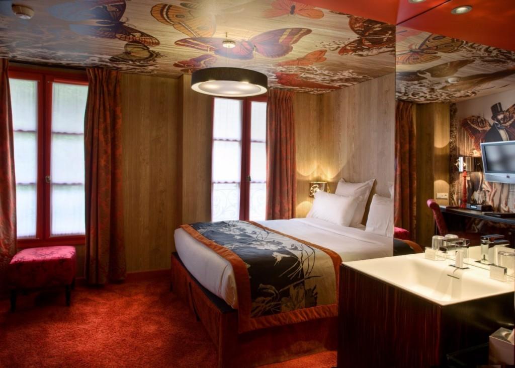 Christian Lacroix Hotel le Bellechasse in Paris