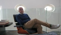 Werbe-Guru Amir Kassaei in Berlin