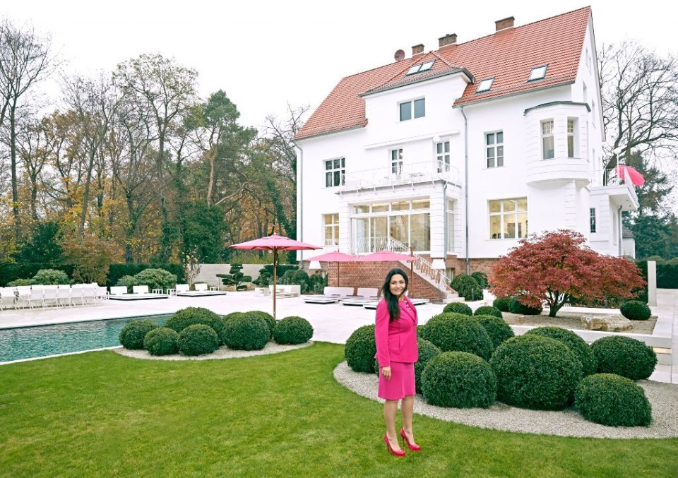 The pink world of entrepreneur Jasmin Taylor