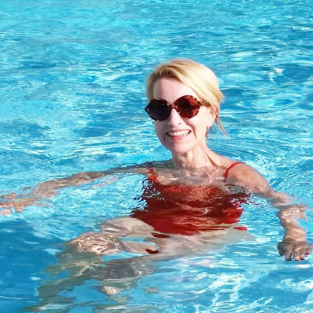 Morning swim before breakfast Whenever its possible Life couldnt behellip