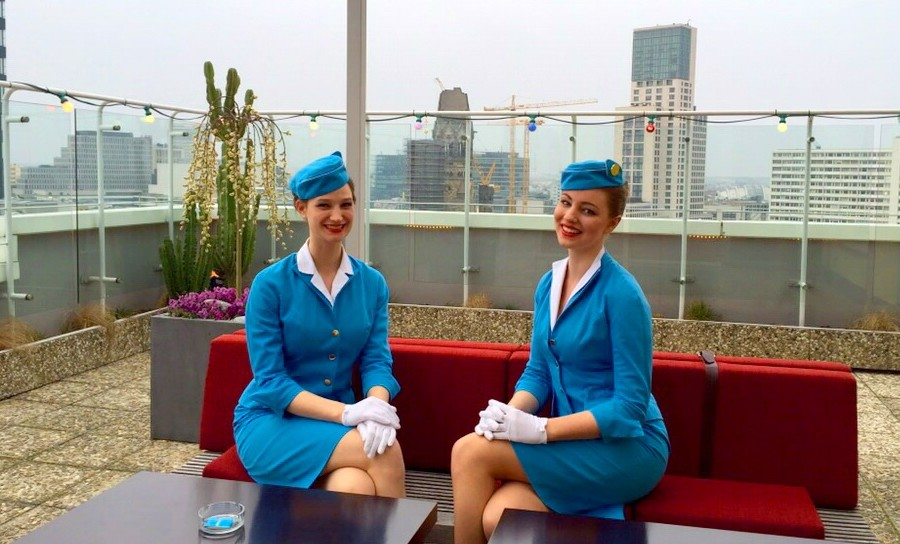 Welcome to the Pan Am Lounge
