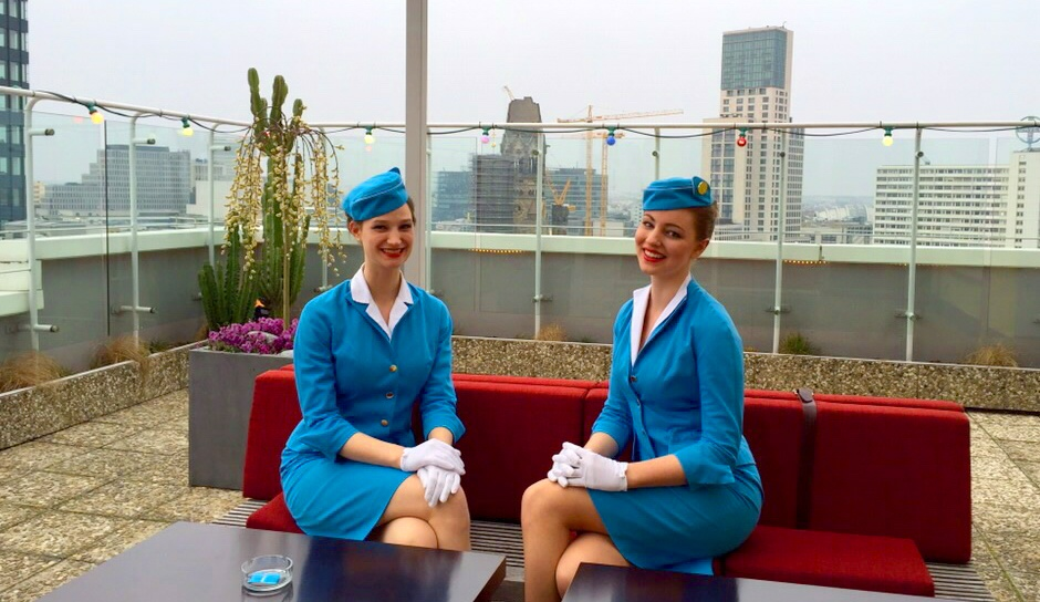 Welcome to the Pan Am Lounge!