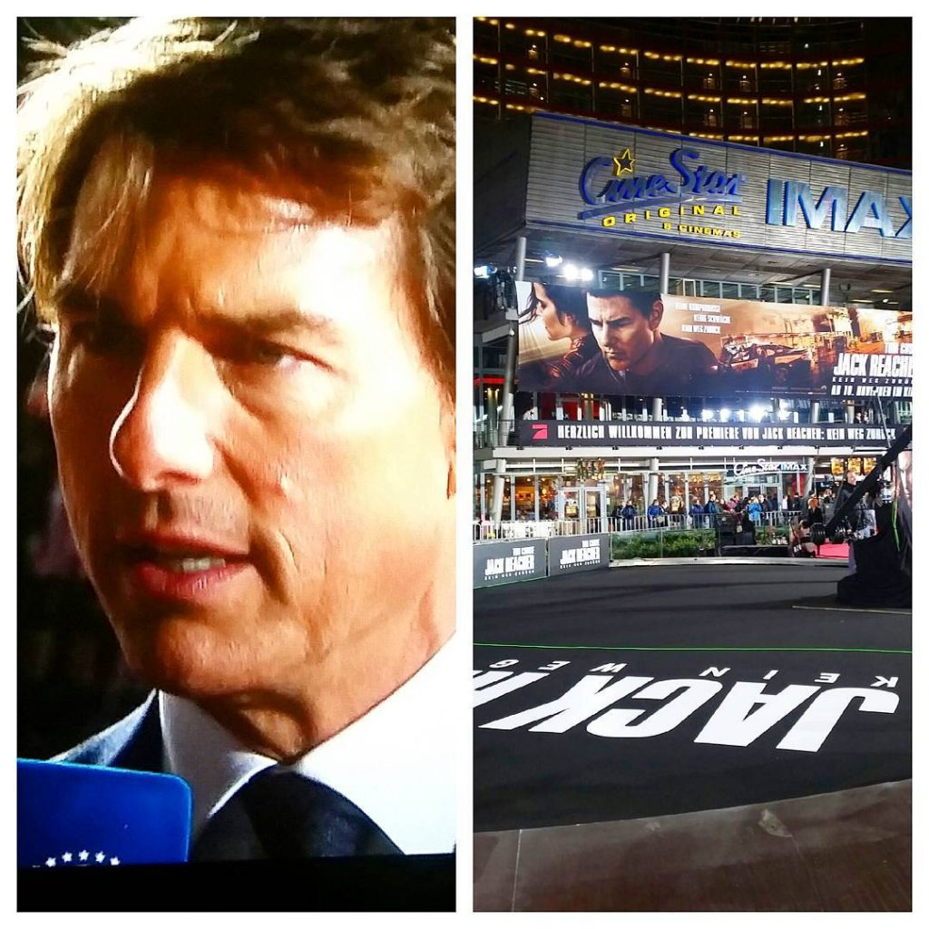 And another great movie premiere in BerlinTom Cruise is Jackhellip