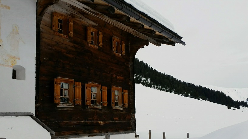 So romantic: The Klösterle Inn in Lech