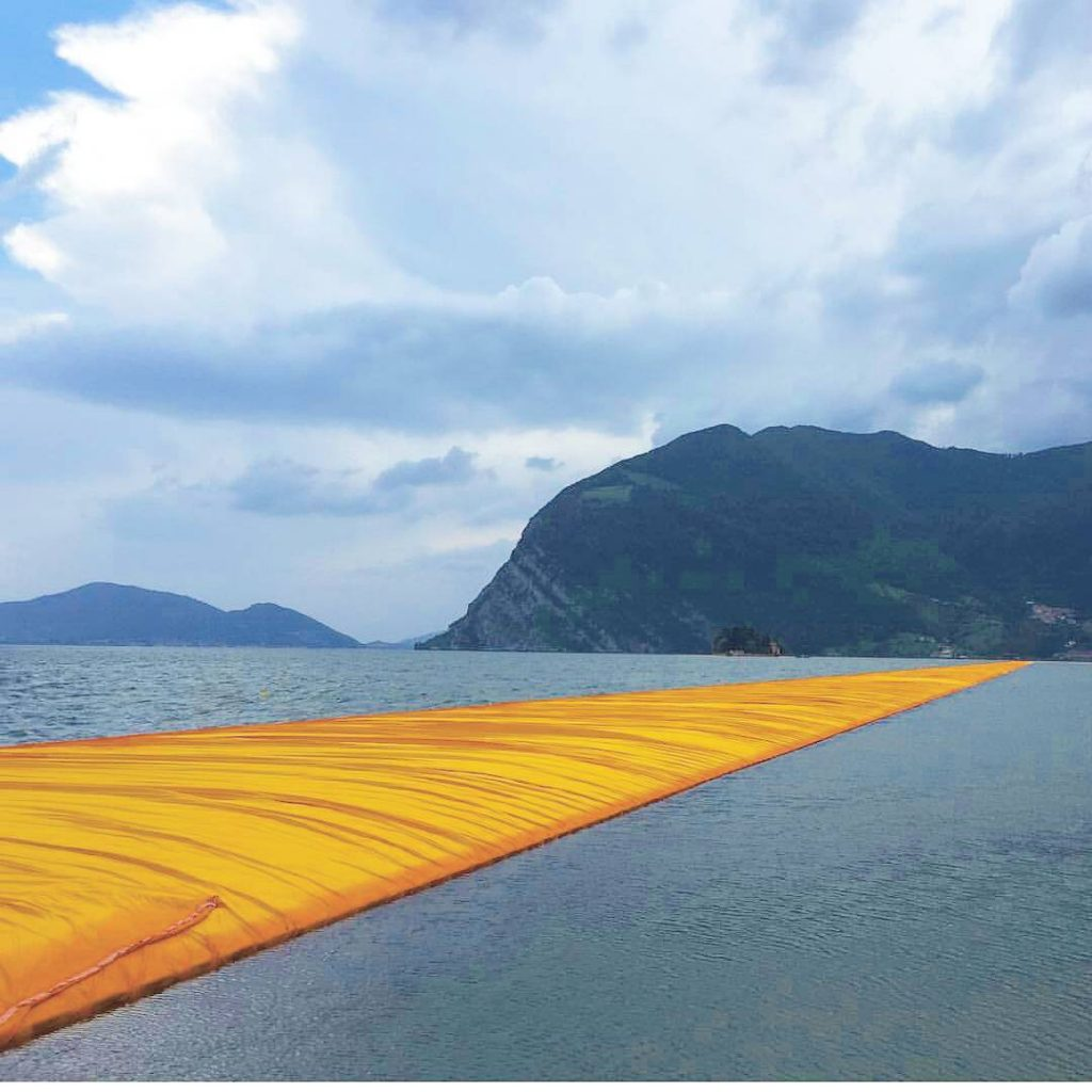 Off to Lago DIseo and Christos floatingpiers  So exciting!!!hellip