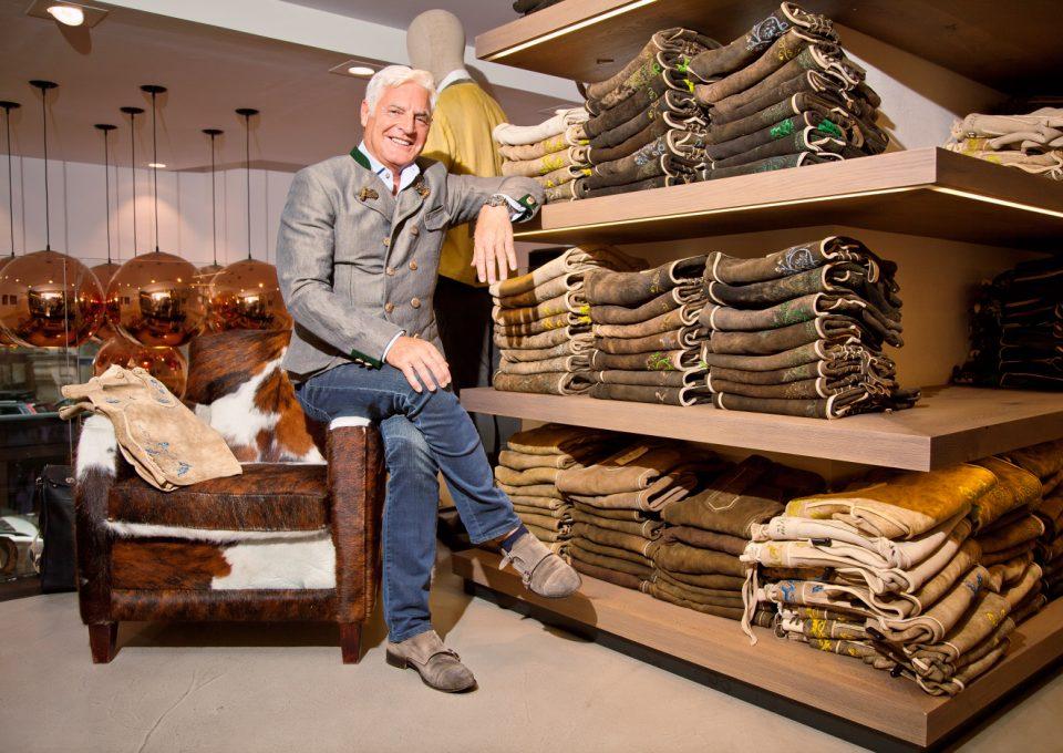 Rolf Griesinger, der Grand Seigneur der Mode