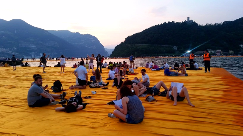 MyStylery Christo Floating Piers Lago D'Iseo (1)