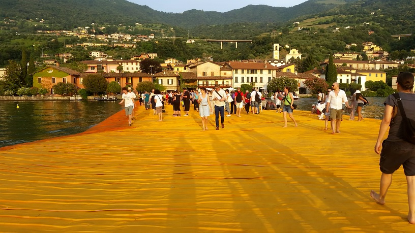 MyStylery Christo Floating Piers Lago D'Iseo (18)