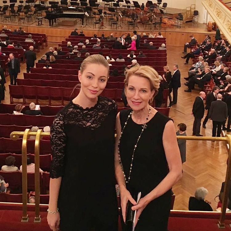 My girl and me at the Konzerthaus in Vienna lasthellip
