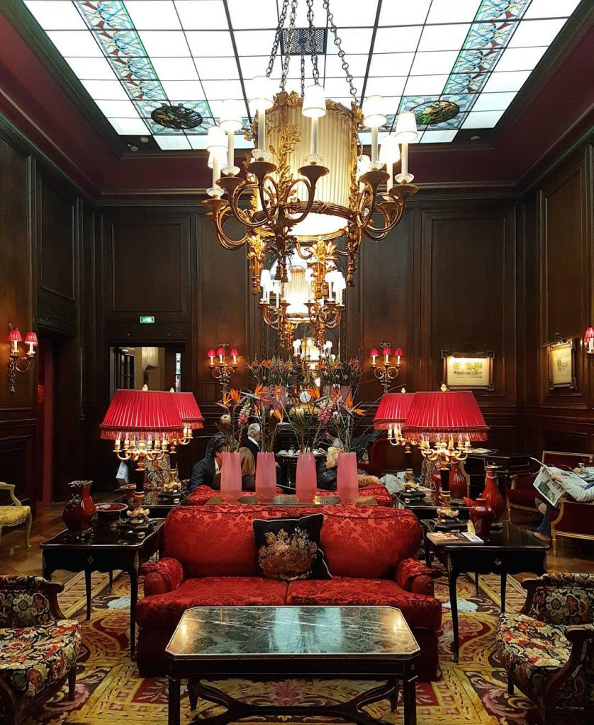 My home for the next few days! Hotel Sacher inhellip