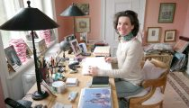 At home with Interior Designer Simone Fritzen
