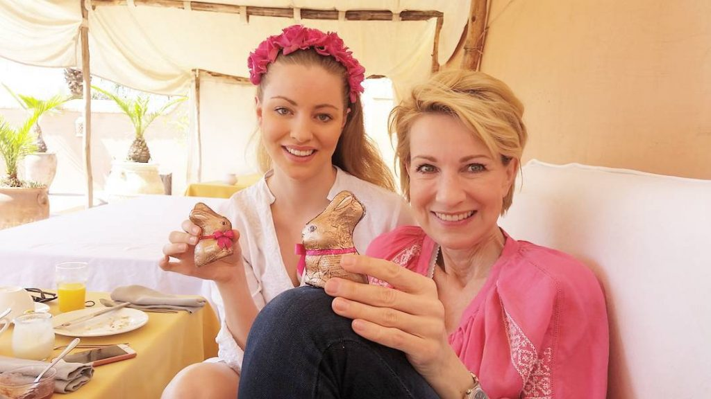 Easter greetings and sweet memories with my beloved ceciliesophie andhellip