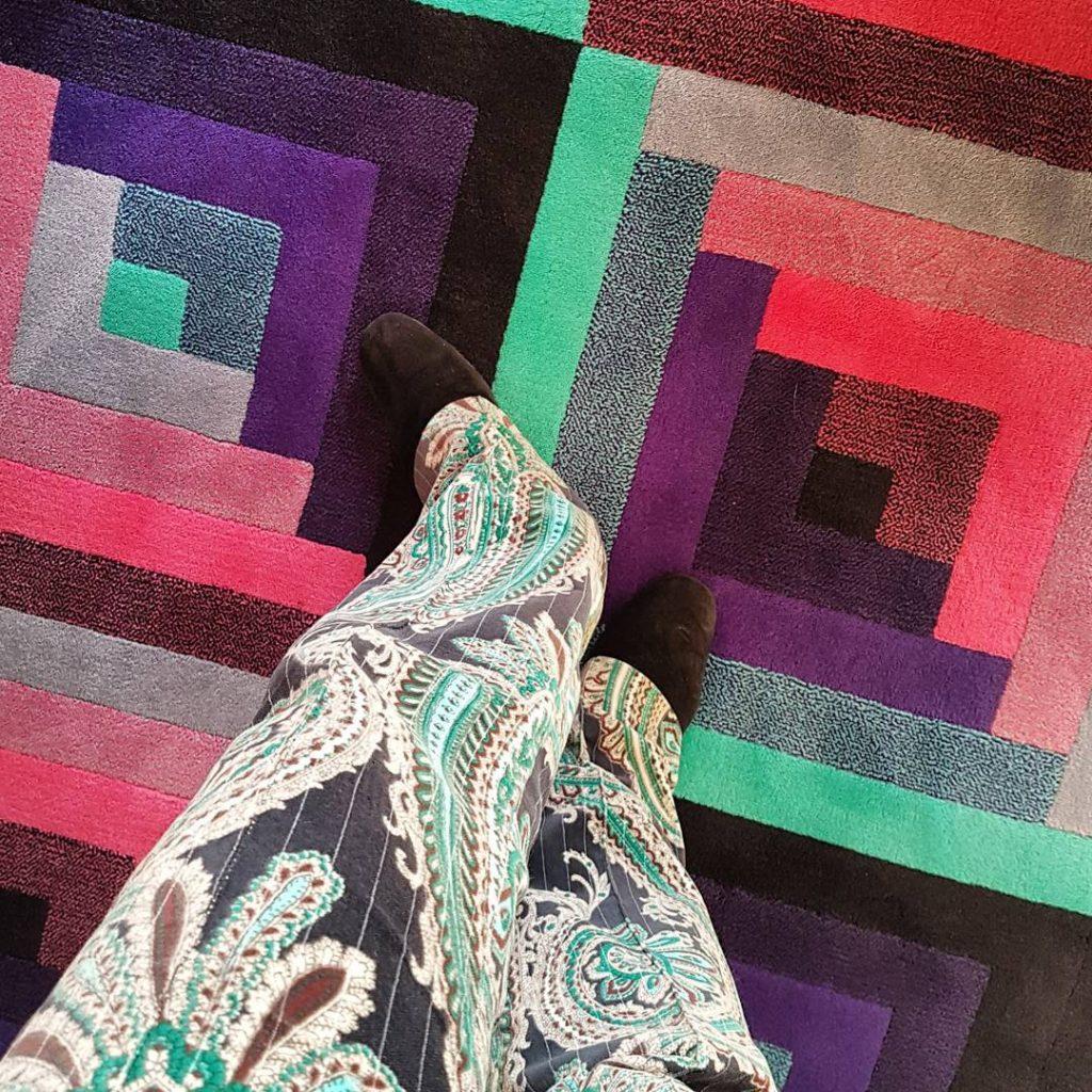 Finally a carpet matching my favorite pants!  A newhellip