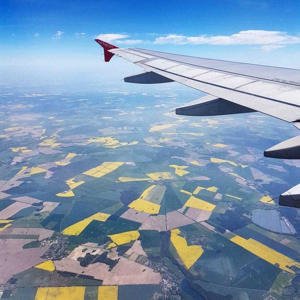 Flying over canola fields Deutschland deine Rapsfelder mystylery munich mnchenhellip