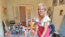 """""""Aus der Mitte"""" – Ausstellung der Künstlerin Judith Milberg"""