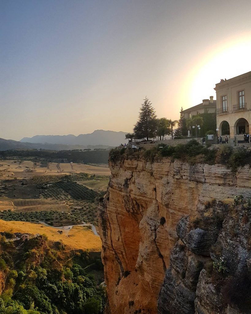 Ronda Sunset Spain Awesome    mystylery mystyleryontour travelinghellip