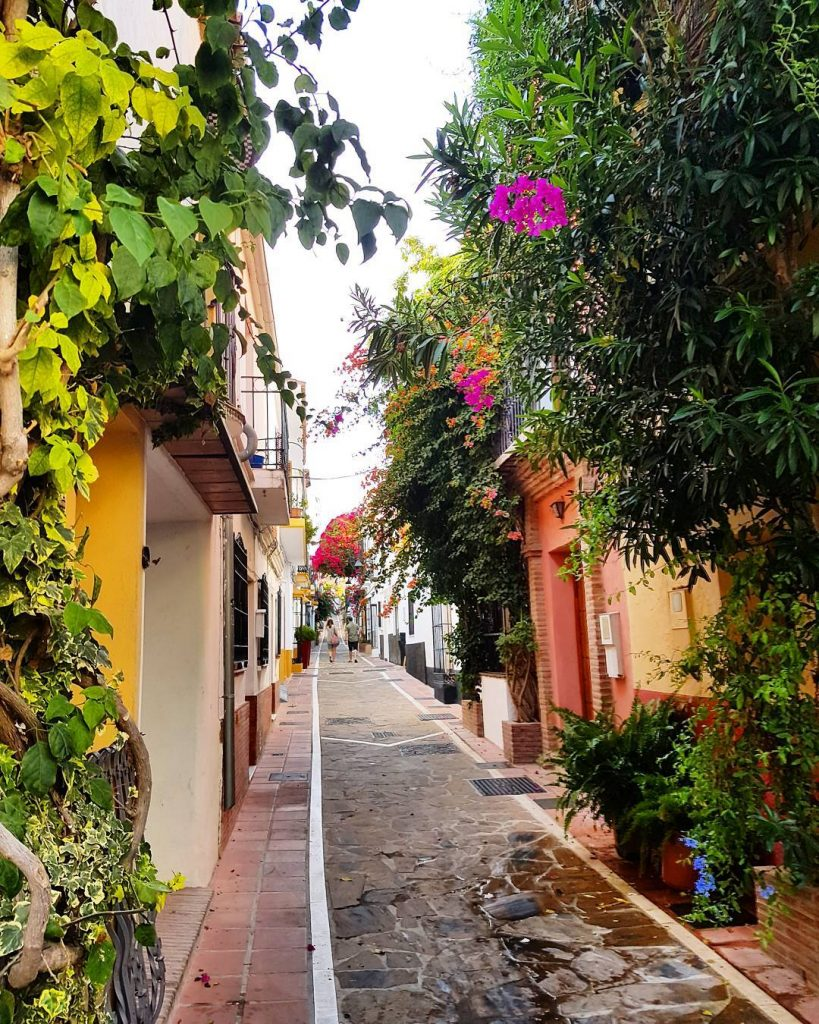 Marbellas old town! Just gorgeous!    mystylery mystyleryontourhellip