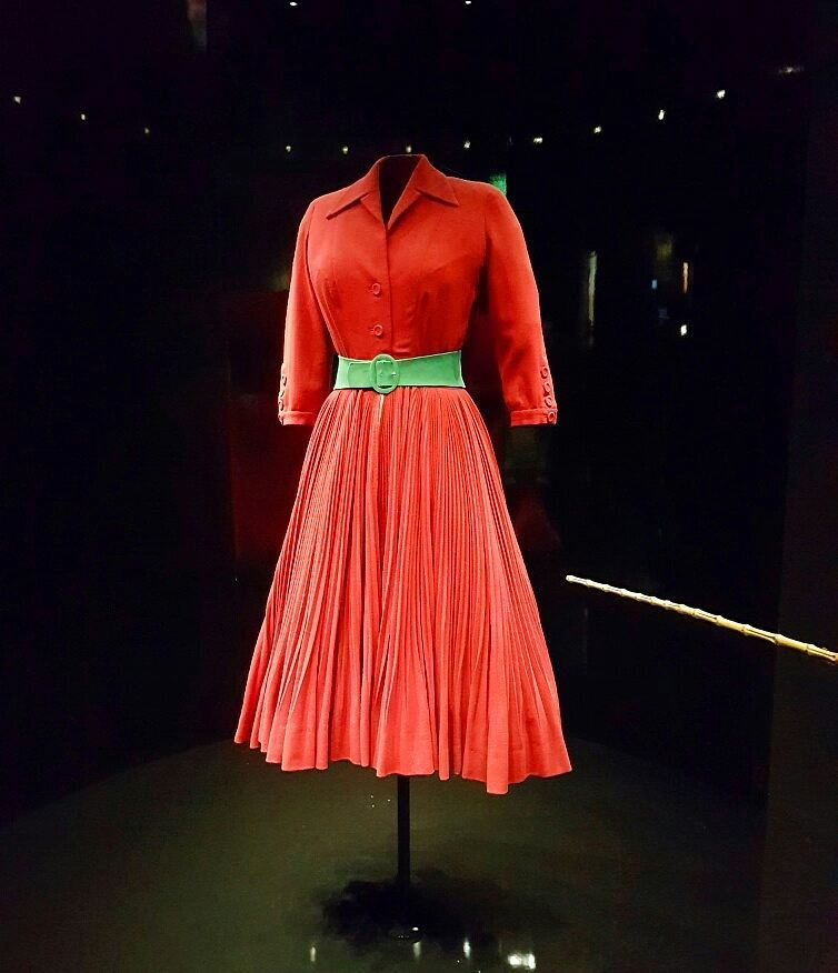 Diablesse Red dress of Christian Diors collection debut in 1947hellip