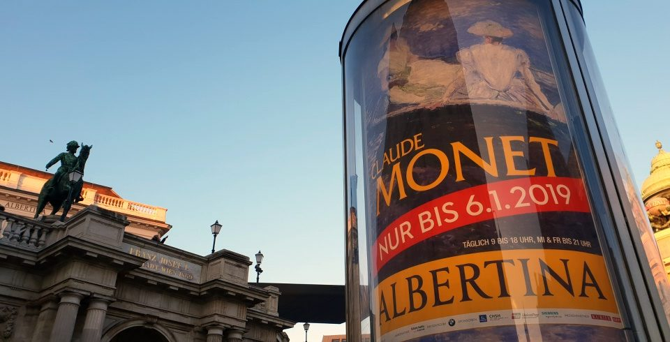 Claude Monet Ausstellung in Wien