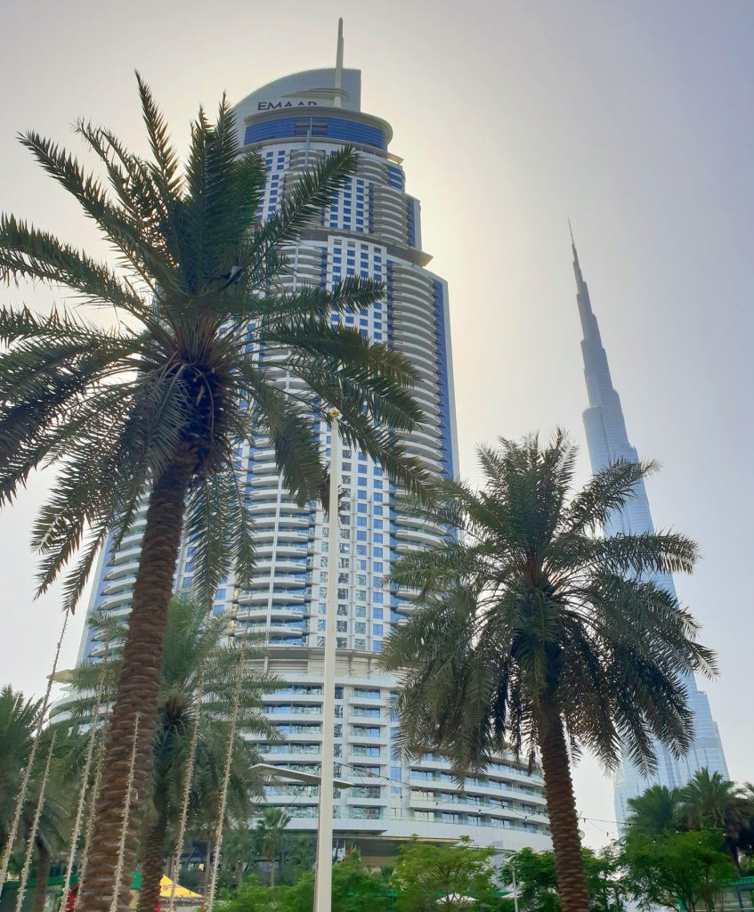 Dubai Address Hotel and Burj Khalifa
