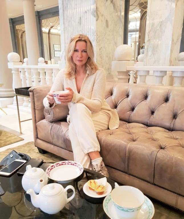 Veronica Ferres und MyStylery, Meet me for tea-Interview