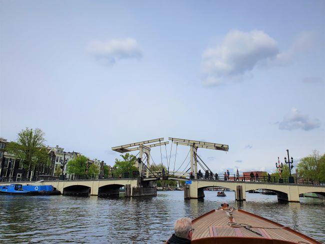 Die Magere Brug in Amsterdam