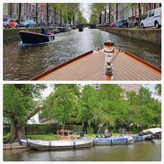 Private und Mietboote in Amsterdam
