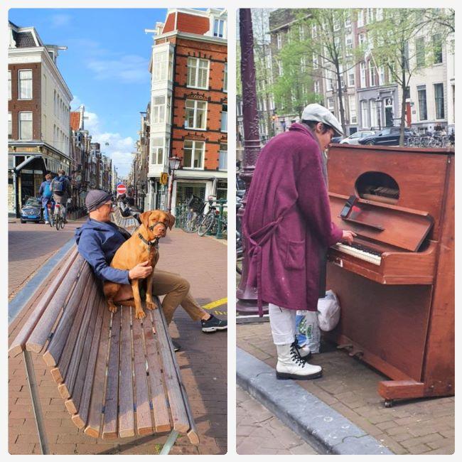 Menschen in Amsterdam