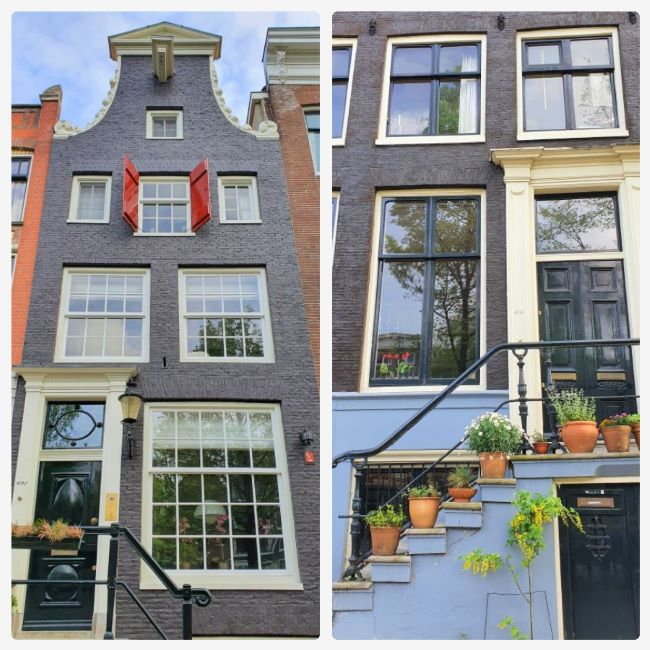Townhouses in Amsterdam