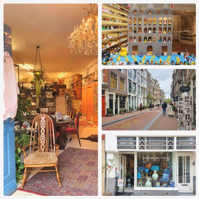 Shoppen in schönen Geschäften