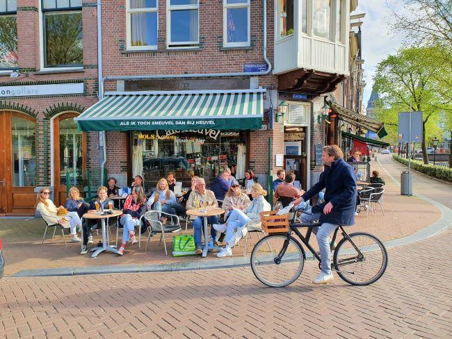 Café in Amsterdam